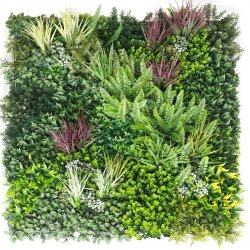 Premium Urban Greenery Vertical Garden / Green Wall UV Resistant 1m x 1m
