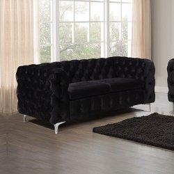 Jacques 2 Seater Black Colour