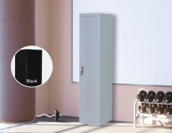 One-Door Office Gym Shed Storage Locker