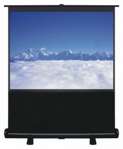 "100"" Pull Up Portable Office Projection Screen"