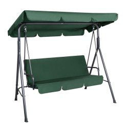 Gardeon Outdoor Swing Chair Hammock 3 Seater Garden Canopy Bench Seat Backyard