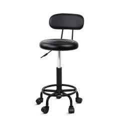 Artiss Salon Stool Swivel Barber Chairs Hairdressing Backrest Hydraulic Height
