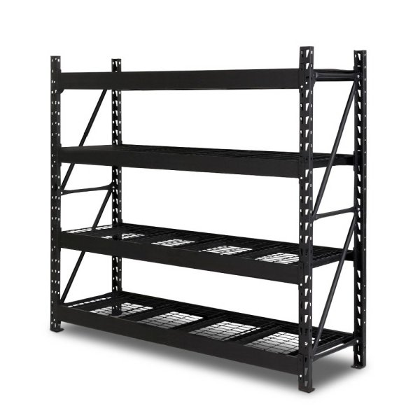 Giantz 2M Warehouse Racking Shelving Heavy Duty Steel Garage Storage Rack