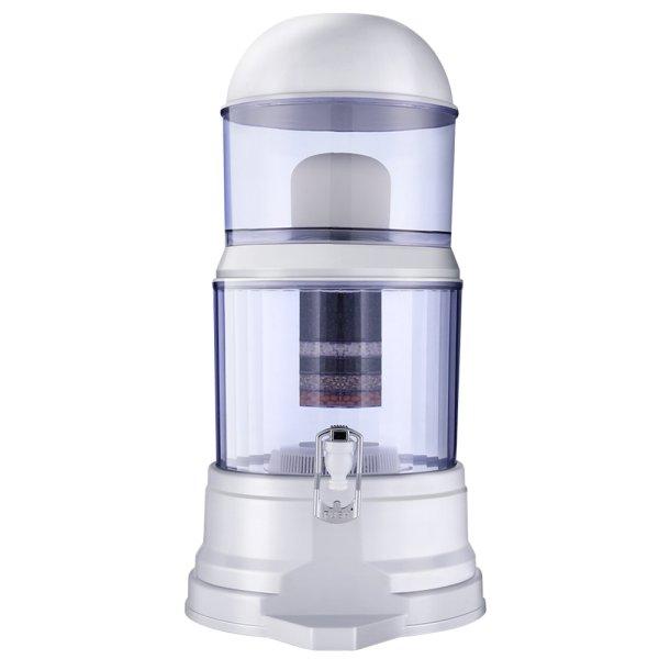 Ceramic Water Filter 7 Stage Water Purifier Dispenser Bench Top 16L Cartridge