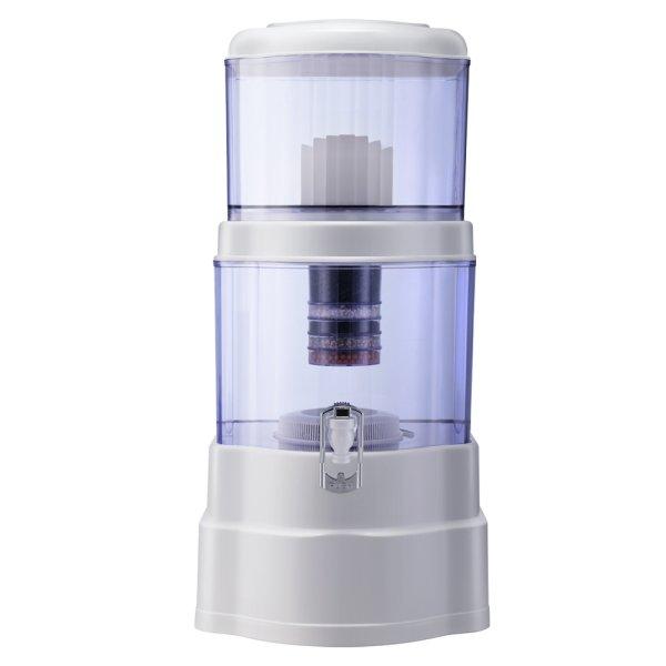Ceramic Water Purifier 7 Stage Water Filter Dispenser Bench Top 22L Cartridge