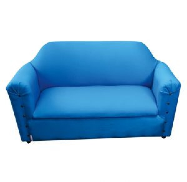 KIDEE LOUNGE DOUBLE SEATER  SKY BLUE SOFA