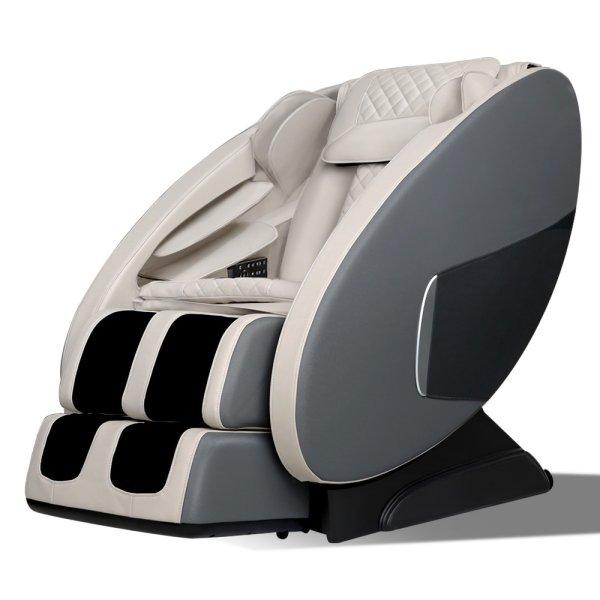 Livemor Electric Massage Chair Zero Gravity Recliner Body Back Shiatsu Massager