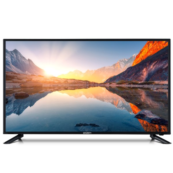"Devanti Smart TV 40 Inch LED TV 40""2K Full HD LCD Slim Screen Netflix Dolby"