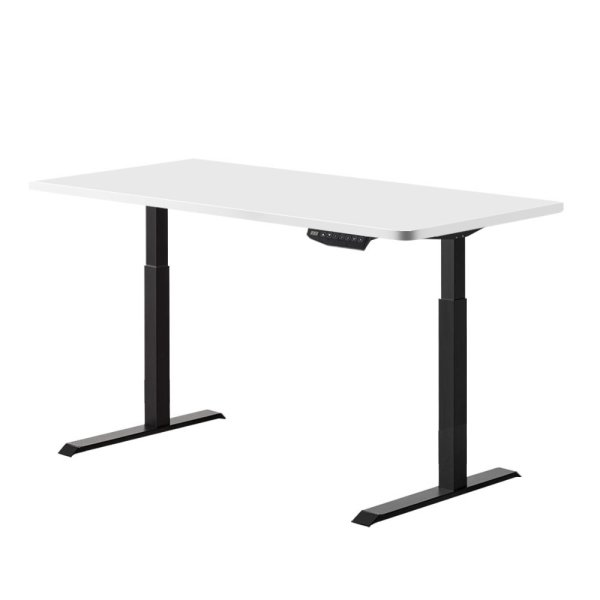 Artiss Standing Desk Sit Stand Riser Motorised Electric Computer Laptop Table 120cm Dual Motor