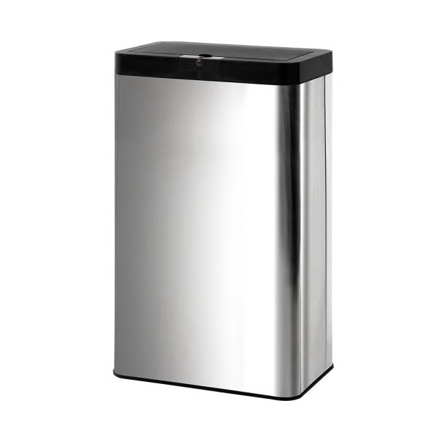 Stainless Steel Sensor Bin Rubbish Trash Bins Motion Automatic Touch Free 70L