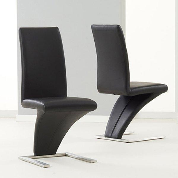 2 X Z Chair Black Colour