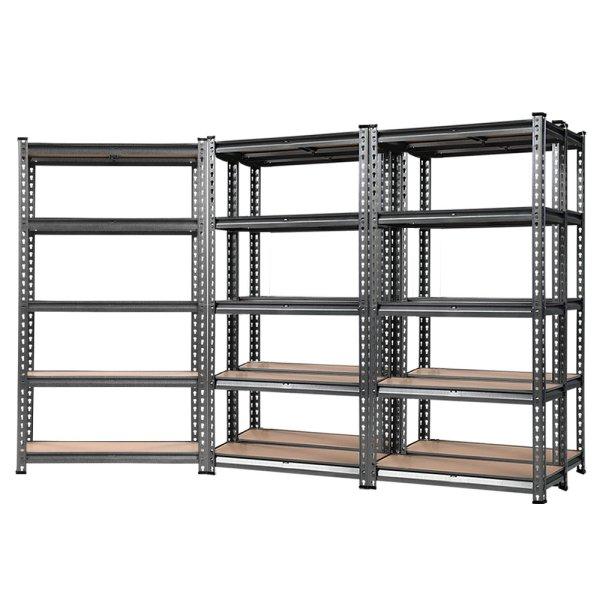 Giantz 5x0.7M Warehouse Racking Shelving Storage Rack Steel Garage Shelf Shelves