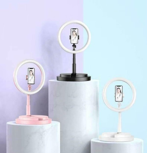 TEQ Y2 Bluetooth Live Beauty LED Light Selfie Stick and Tripod stand