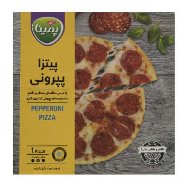 پیتزا پپرونی پمینا مقدار 290 گرم