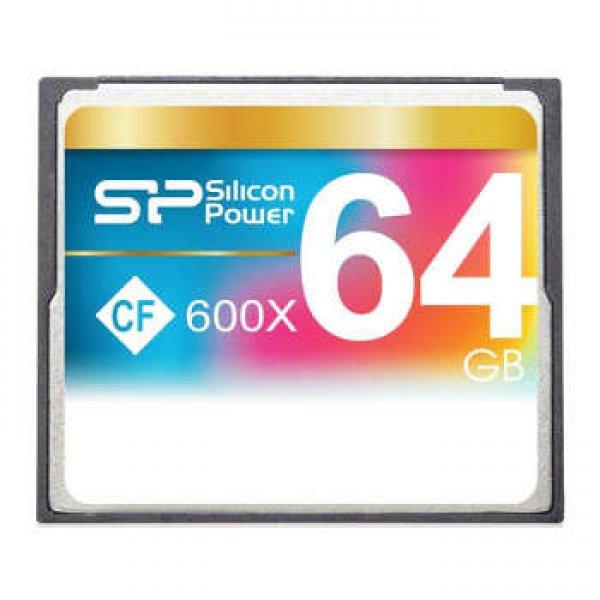 کارت حافظه CF سیلیکون پاور مدل Superior سرعت 600X 90MBps ظرفیت 64 گیگابایت