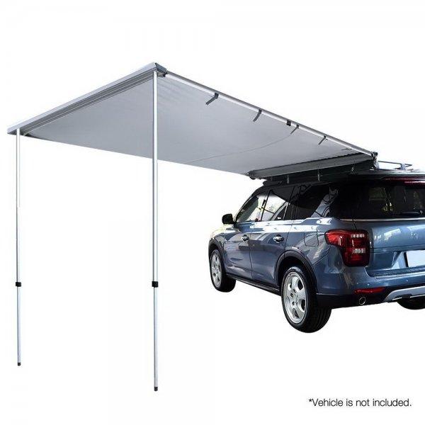 Weisshorn Car Shade Awning 2.5 x 3m - Grey