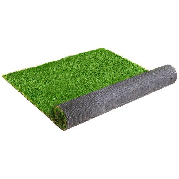 Primeturf Synthetic 40mm  0.95mx5m 4.75sqm Artificial Grass Fake Turf 4-coloured Plants Plastic Lawn