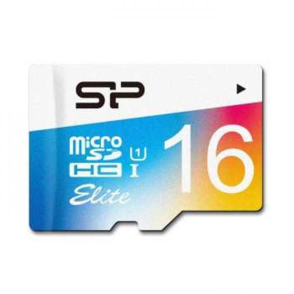کارت حافظه microSDHC سیلیکون پاور مدل Color Elite کلاس 10 استاندارد UHC-I U1 سرعت 85MBps ظرفیت 16 گی