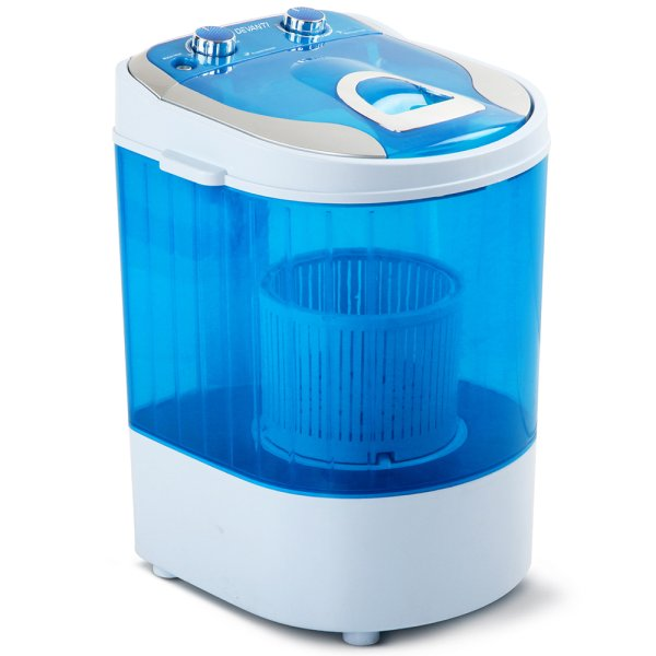 Devanti 4KG Mini Portable Washing Machine - Blue