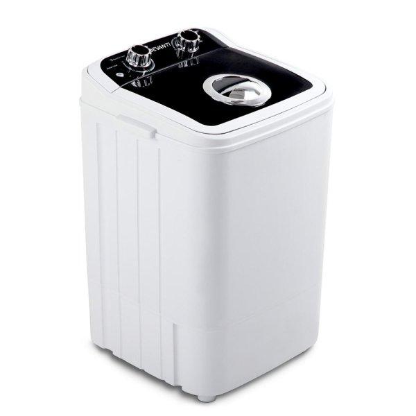 Devanti 4.6KG Mini Portable Washing Machine - Black