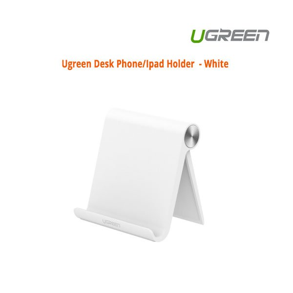 UGREEN Desk Phone/iPad Holder - White (30285)