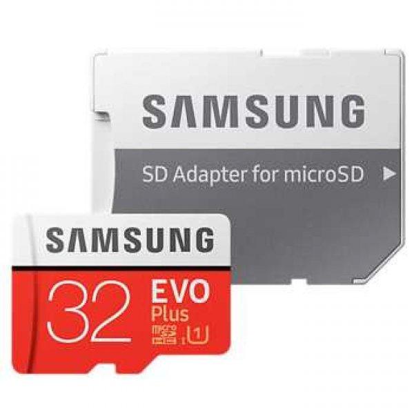 کارت حافظه microSDHC سامسونگ مدل Evo Plus کلاس 10 استاندارد UHS-I U1 سرعت 95MBps همراه با آداپتور SD