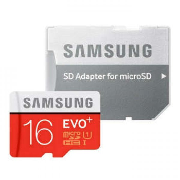 کارت حافظه microSDHC سامسونگ مدل Evo Plus کلاس 10 استاندارد UHS-I U1 سرعت 100MBps همراه با آداپتور S