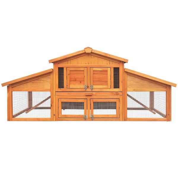 Gardeon 2 Storey Wooden Hutch