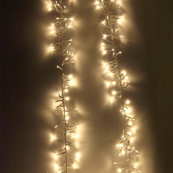 Jingle Jollys 500 LED Christmas String Lights Fairy Party Wedding Outdoor Warm