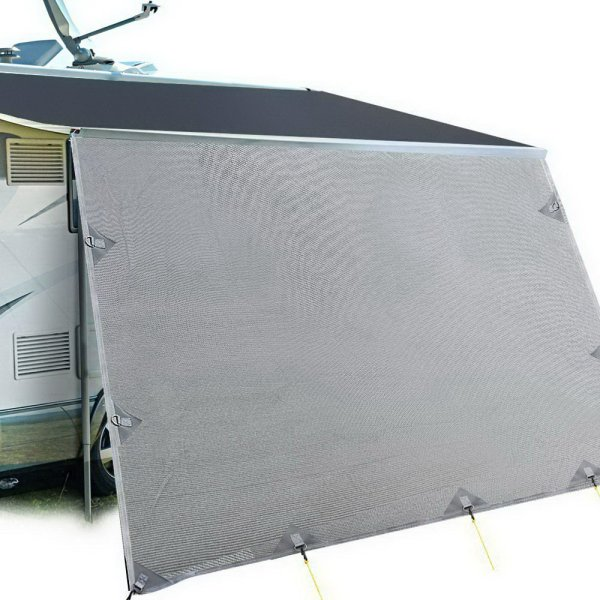 Weisshorn Caravan Roll Out Awning 5.2 x 1.8m - Grey