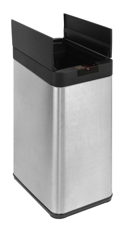 48L Automatic Sensor Rubbish Stainless Steel Bin Fingerprint Proof