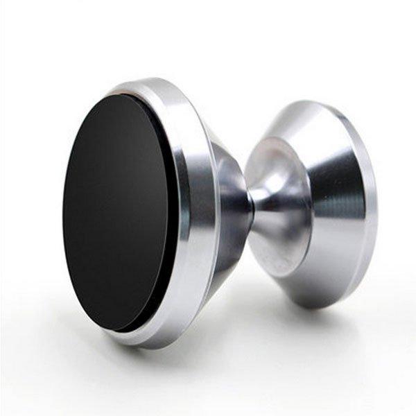 Dash Top Full Metal Magnetic Car Mount - Silver