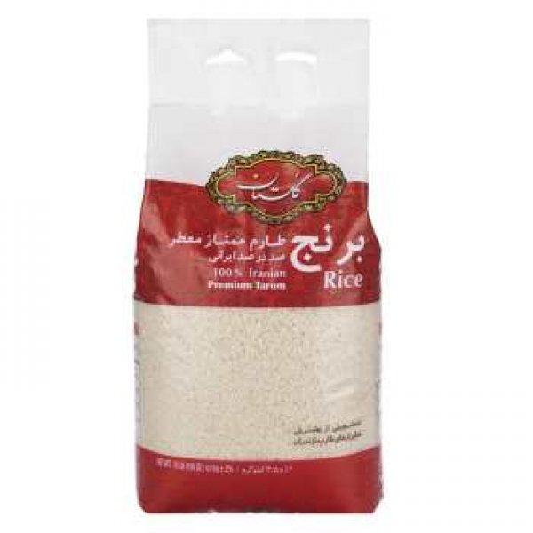 برنج طارم ممتاز گلستان مقدار 4.5 کیلوگرم