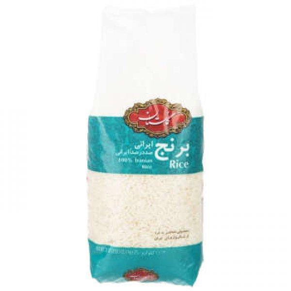 برنج ایرانی گلستان مقدار 1 کیلوگرم