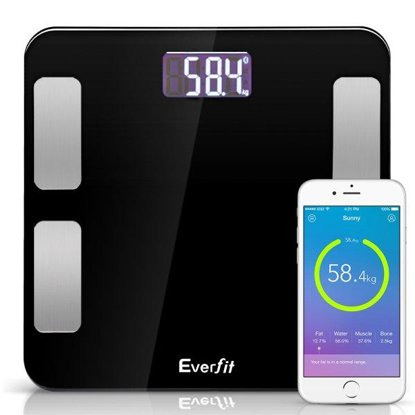 Digital Body Fat Scale - Black