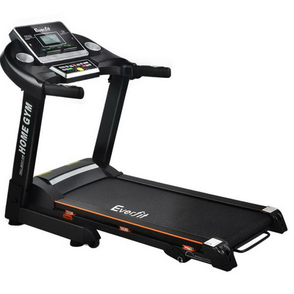 Everfit Electric Treadmill 42cm Running Home Gym Fitness Machine Black
