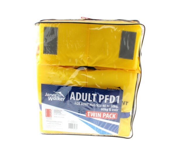 Pfd Jarvis Walker Adult Blocks 40 Plus Kg Twin Pack