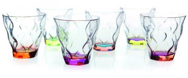 Riflessi 5 Bicolour S/6 Bicchieri