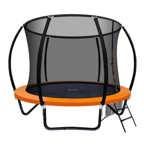Everfit 8FT Trampoline - Orange