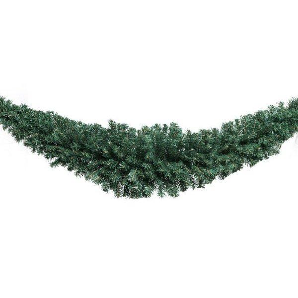 Jingle Jollys 6FT Christmas Garland - Green