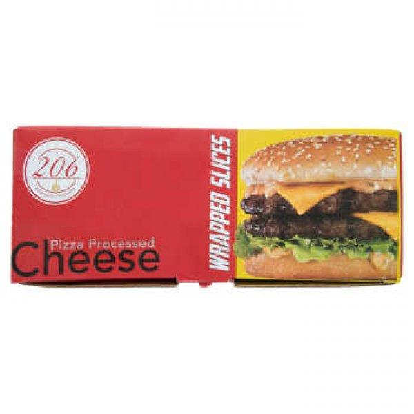پنیر پیتزا پروسس ورقه ای 206 مقدار 1000 گرم