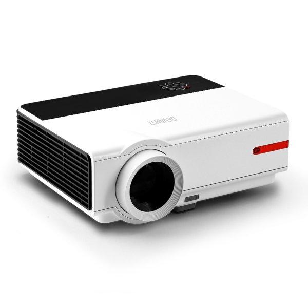 Devanti Smart Full HD 1080P Android Video Projector Home Cinema Theatre WiFi Bluetooth