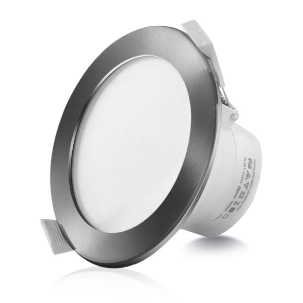 10 x LUMEY LED Downlight Kit Ceiling Light Bathroom Dimmable Daylight White 10W