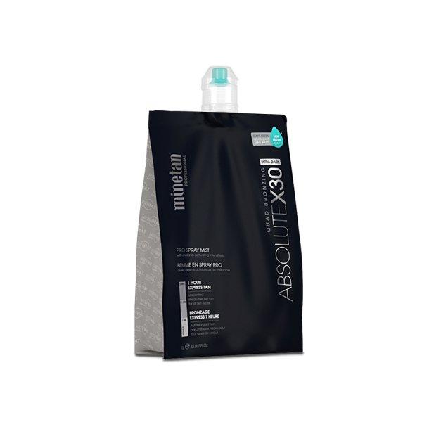 MineTan Professional Spray Tan Solution 1Litre Sunless Tanning Absolute x30