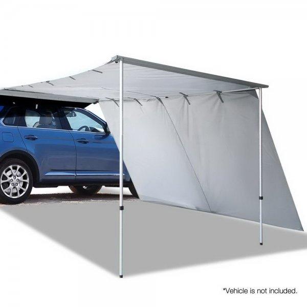 Weisshorn Car Shade Awning 2.5 X 3M W/ Extension 3 X 2M   Grey