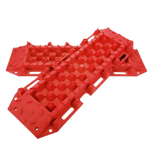 10T Heavy Duty Recovery Tracks Sand Track Snow Mud Tracks 10T Vehicle Red 4WD