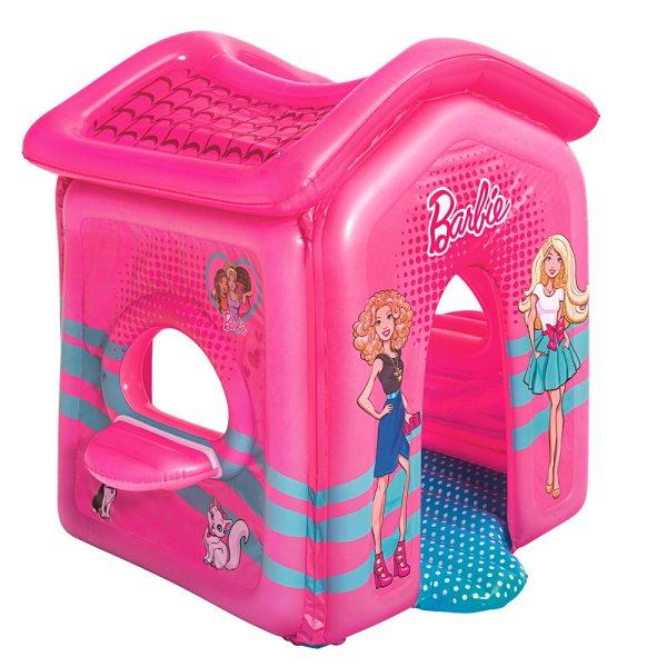 Bestway Barbie Malibu Play House Inflatable Toy Indoor Toddler Pink Playhouse