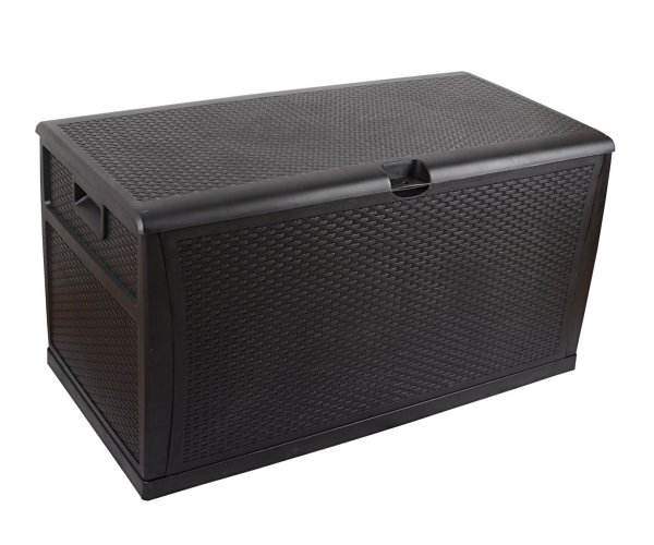 Patio Deck Box Outdoor Storage Plastic Bench Box 450 Litre