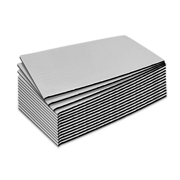 Weisshorn 41sq/ft Car Sound Deadener Butyl Heat Proof Insulation Noise Deadening
