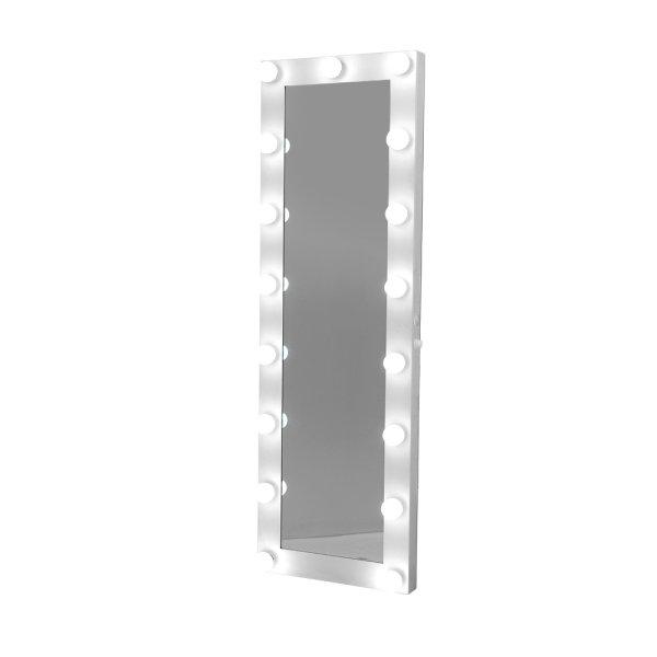 Embellir Full Length Mirror Floor Standing Makeup Wall Light Bulbs 1.5M Mirror